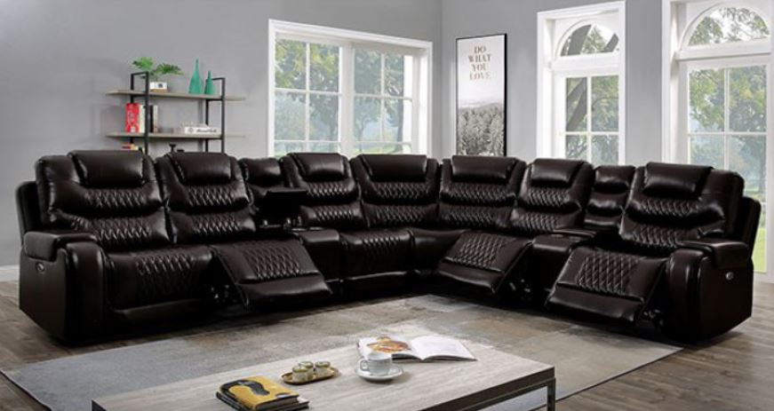 Brown Section without Recliner
