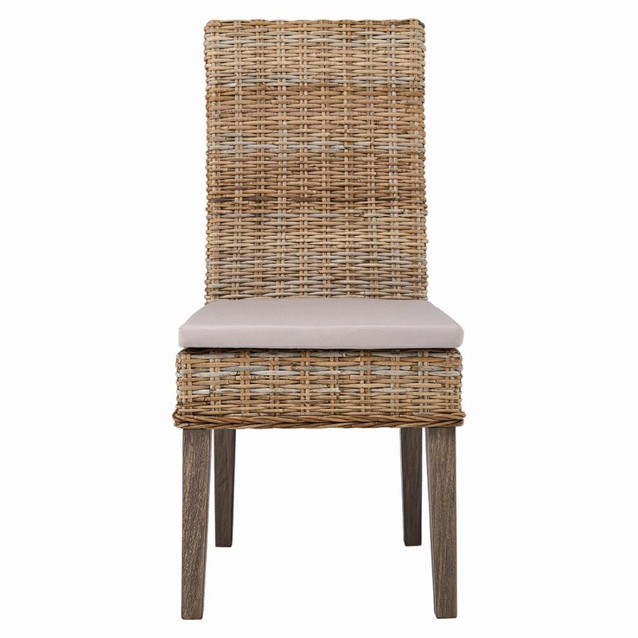 Kubu Woven Side Chair Front