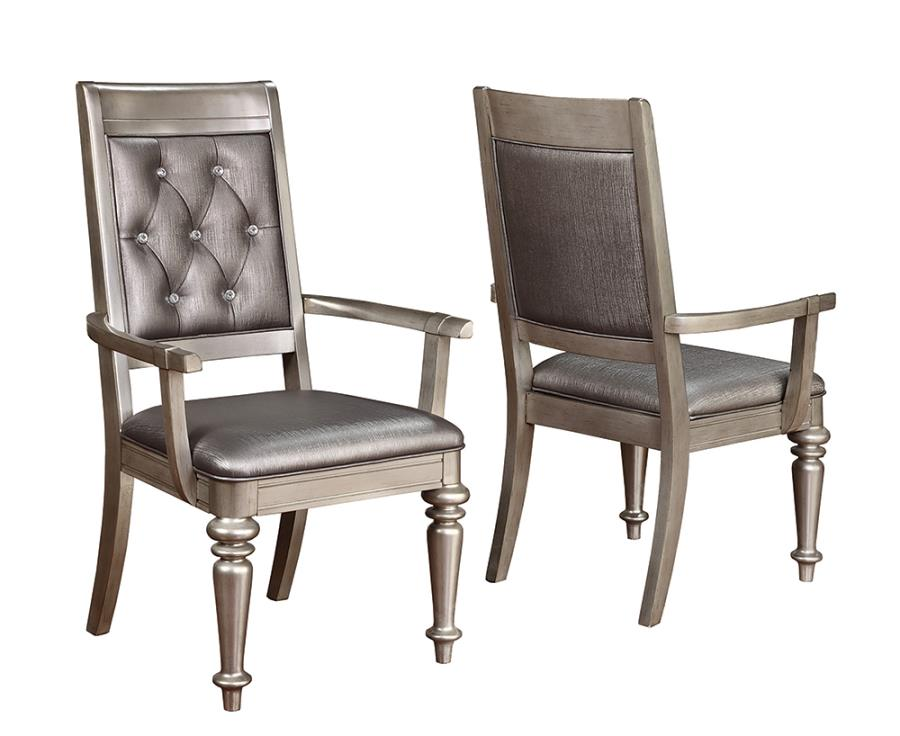 2 Arm Chairs Front and Back