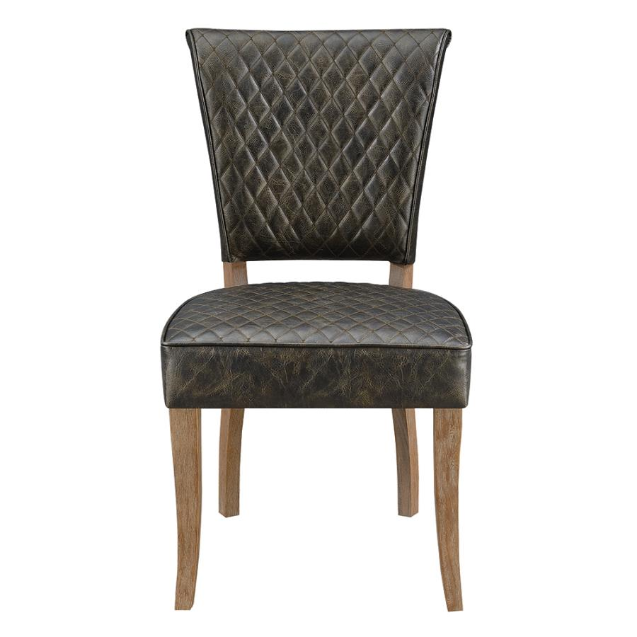 Nailhead Trim Side Chairs Front