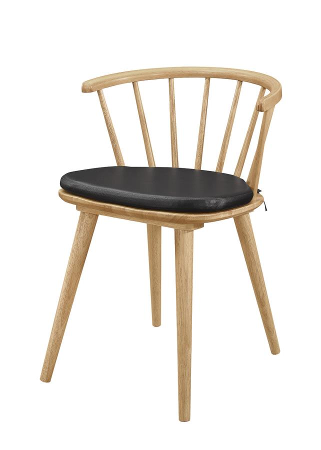 Side Chair w/ Removable Seat Cushion
