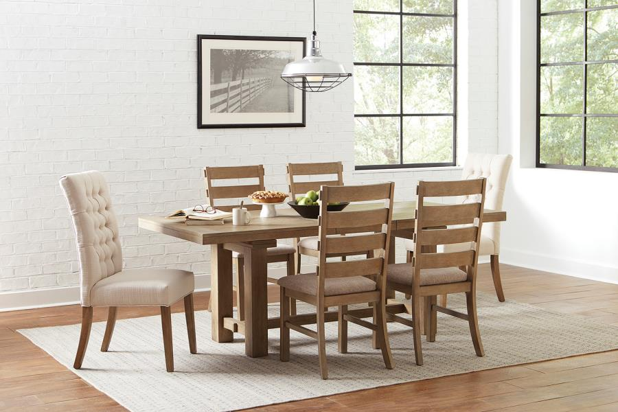 Complete Dining Table Set w/ Mix and Match Dining Chairs
