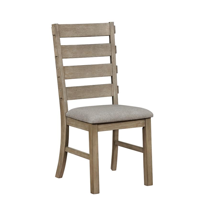 Ladder Back Dining Chair Angle