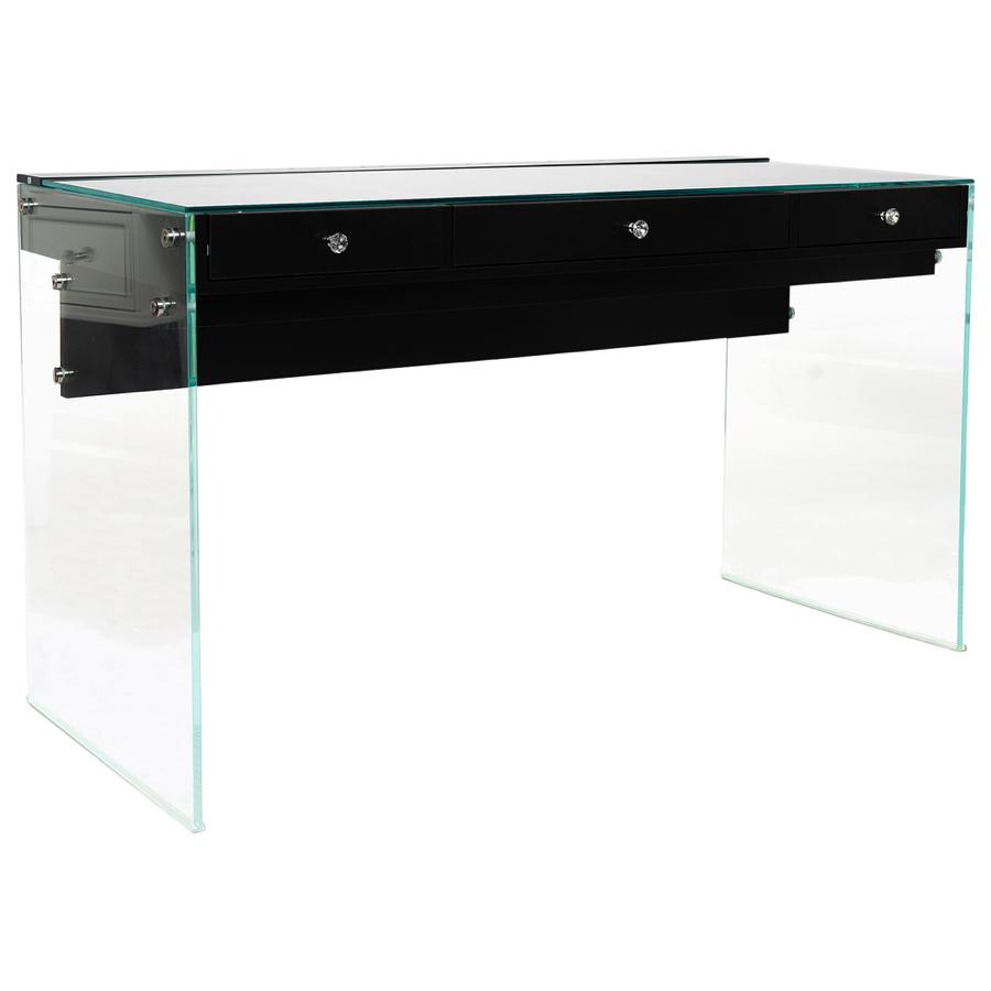 SlayStation® Black Elite Vanity Table