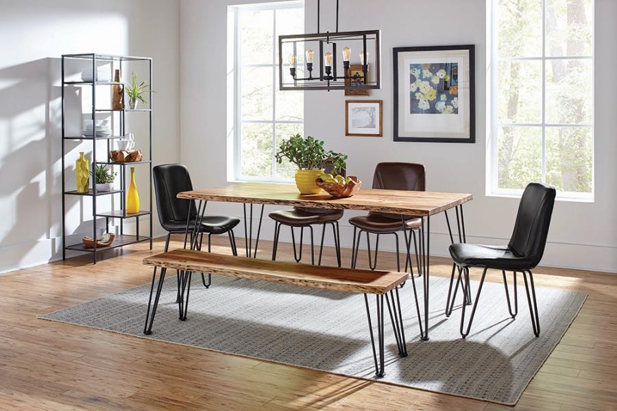 Sherman Live Edge Wood Dining Table