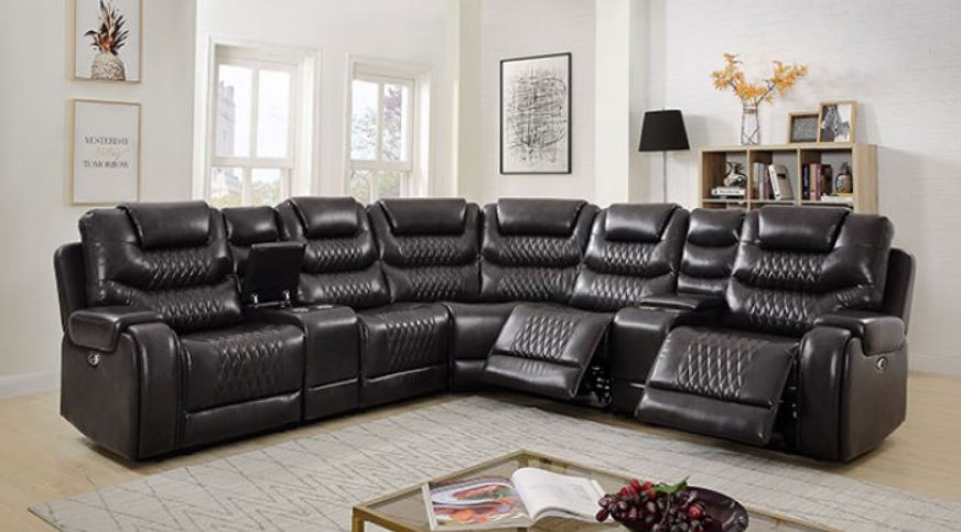 Gray Section without Recliner