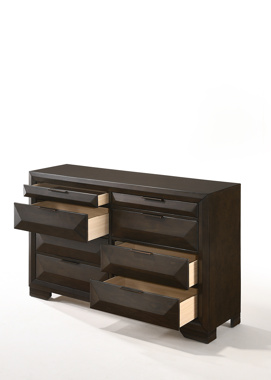 Dresser w/ Drawers Opened