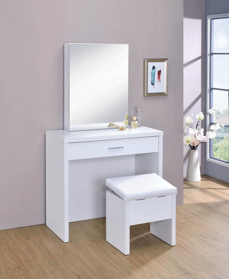 White 3 Piece Vanity Set