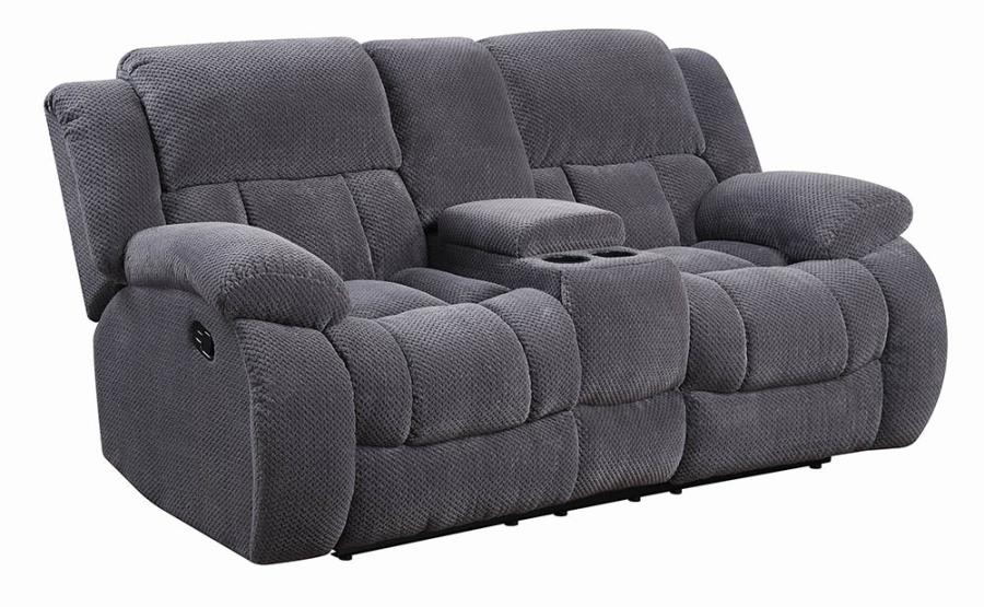 Charcoal Reclining Loveseat