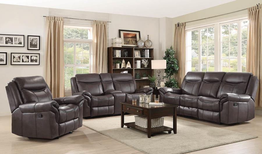 Cocoa Complete Power Motion Reclining Sofa Set