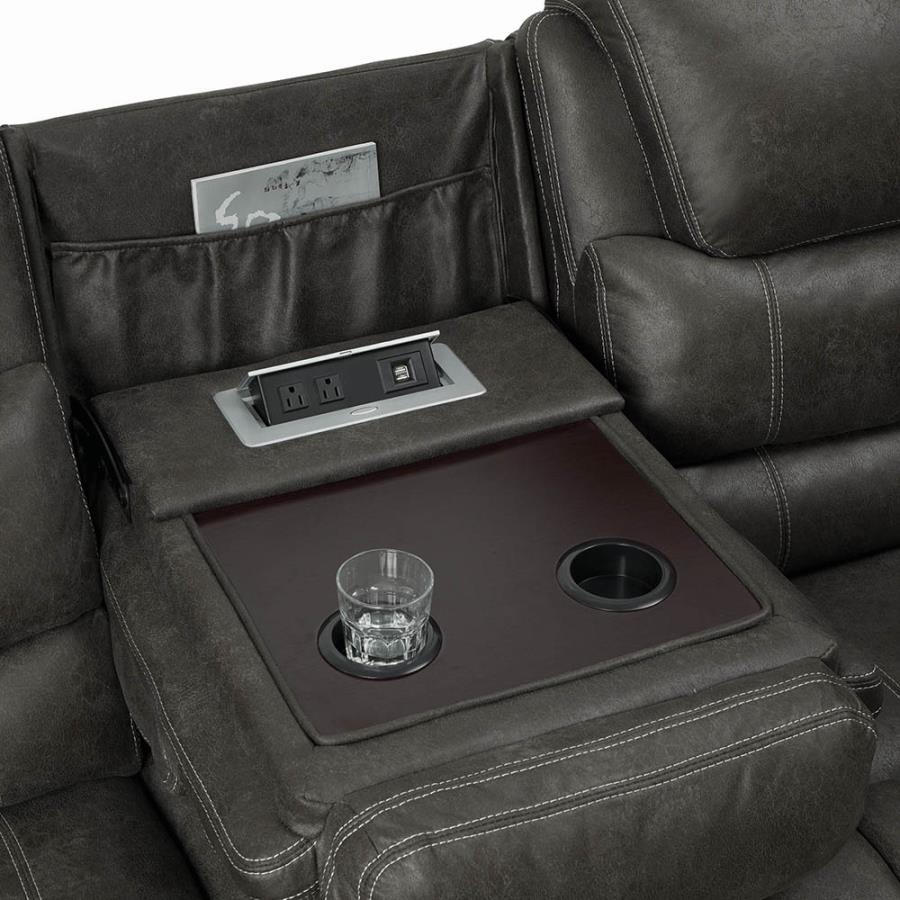 Drop Down Console in Sofa