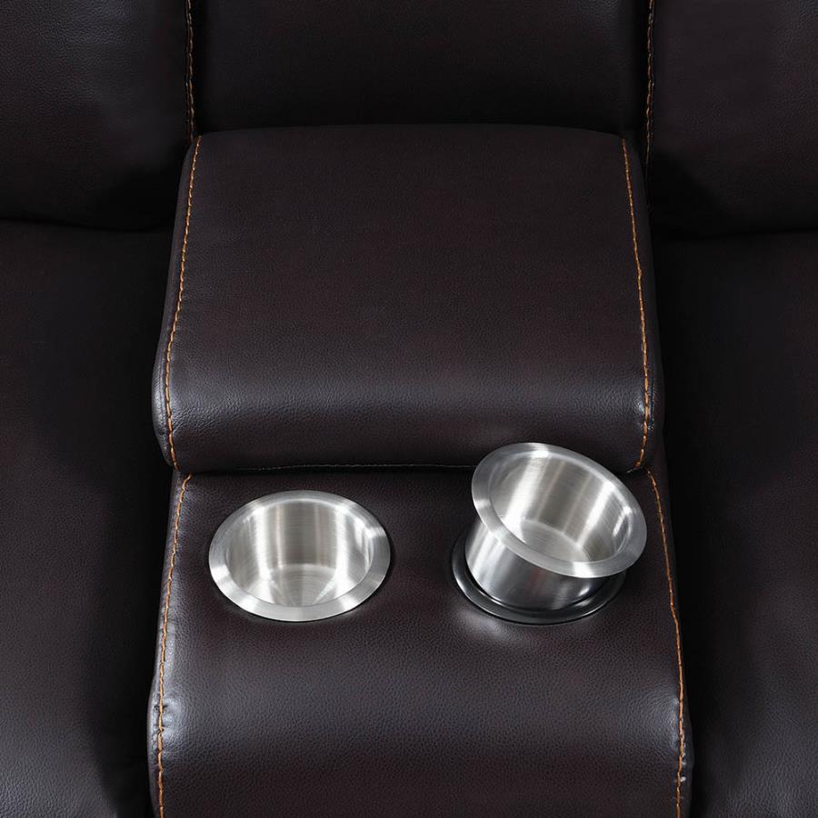 Console Stainless Steel Removable Cup Holders