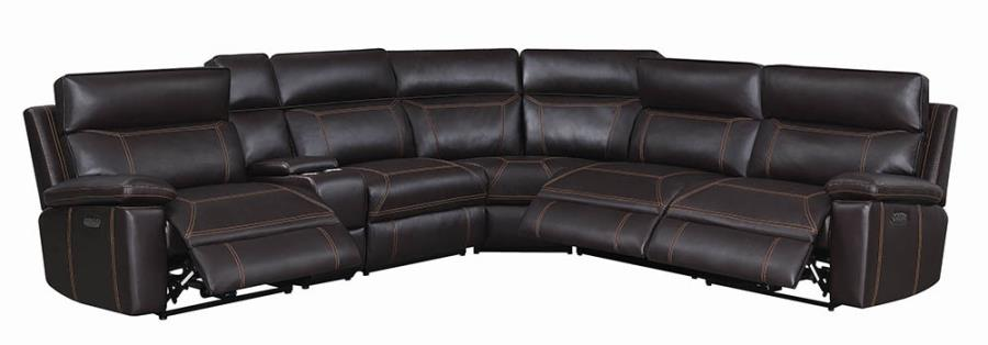 Complete 6-piece Sectional Sofa Recliners