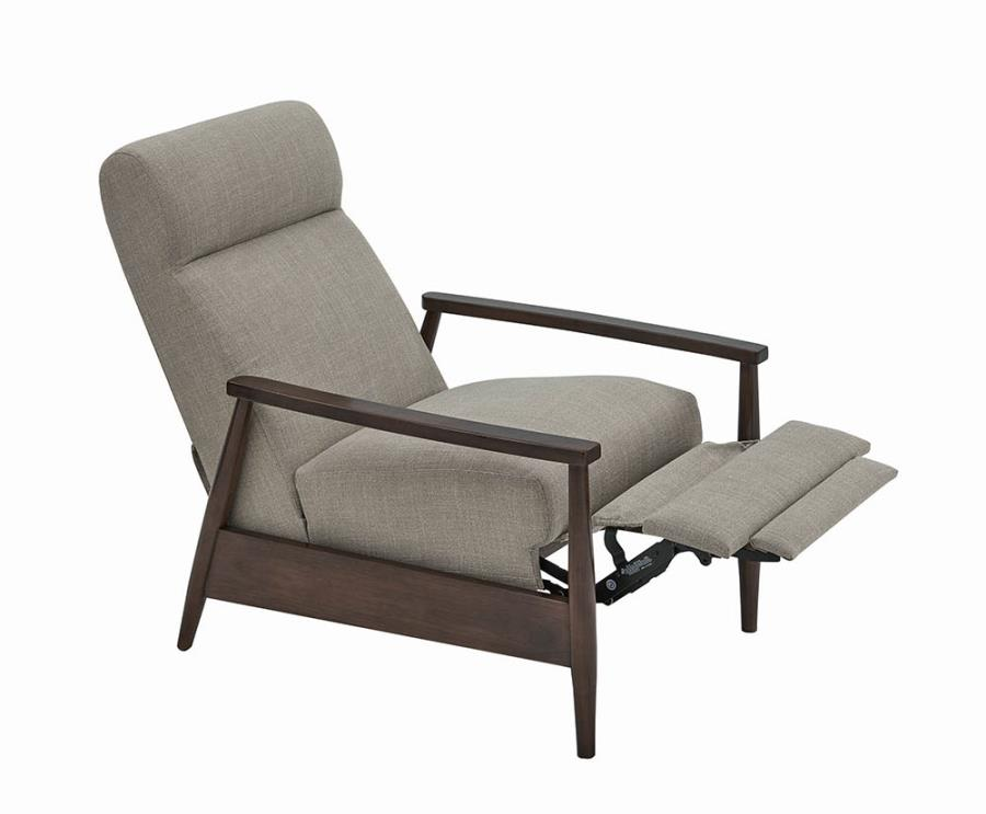 Push Back Recliner Fully Reclined