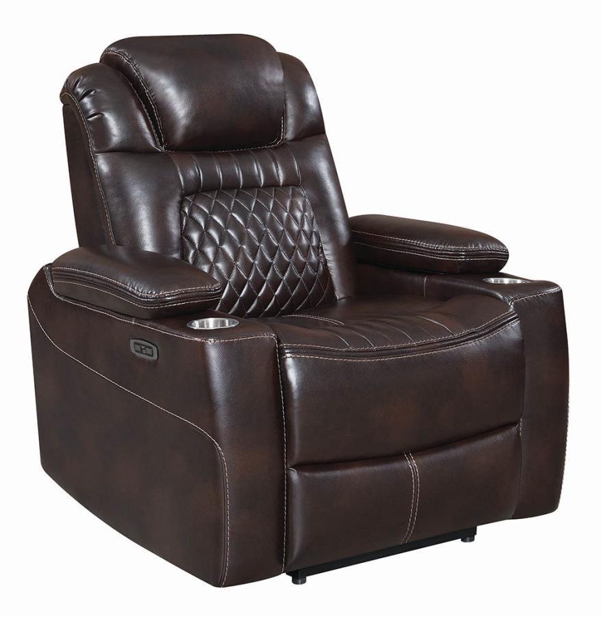 Espresso Power Motion Recliner not Opened