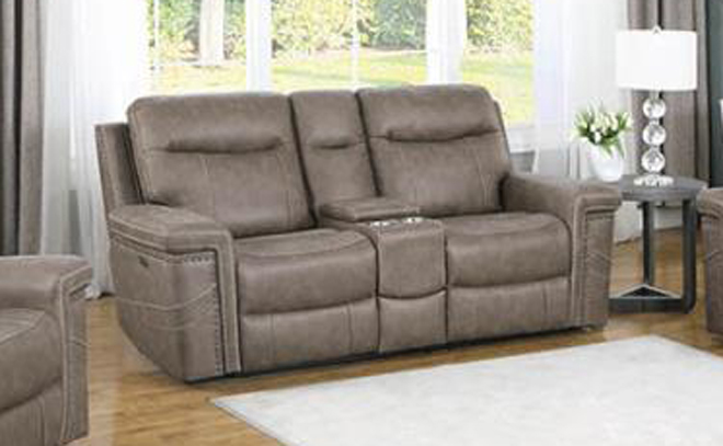 Power Motion Reclining Loveseat