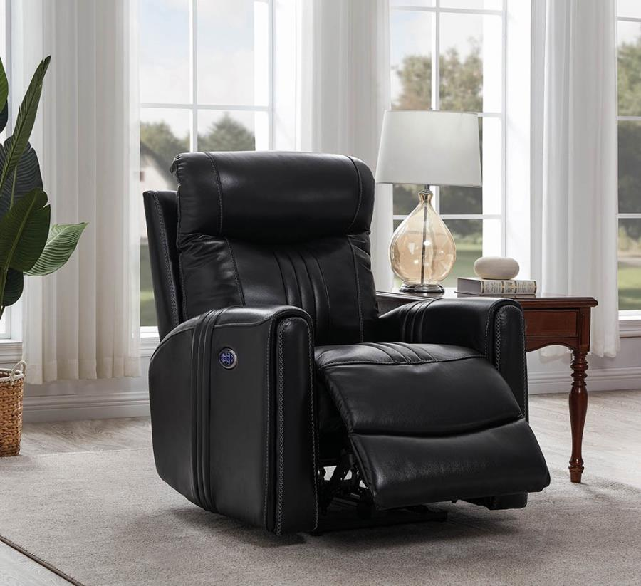 Black Power Motion Recliner