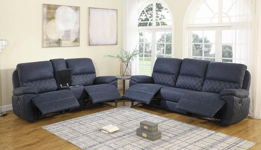 Configuration - Loveseat w/ Console and Sofa