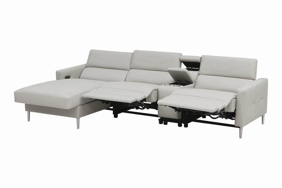 Complete 4-piece Sectional Sofa Recliners