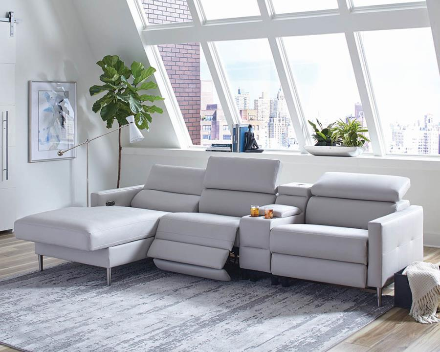 Complete 4-piece Sectional Sofa Roomview