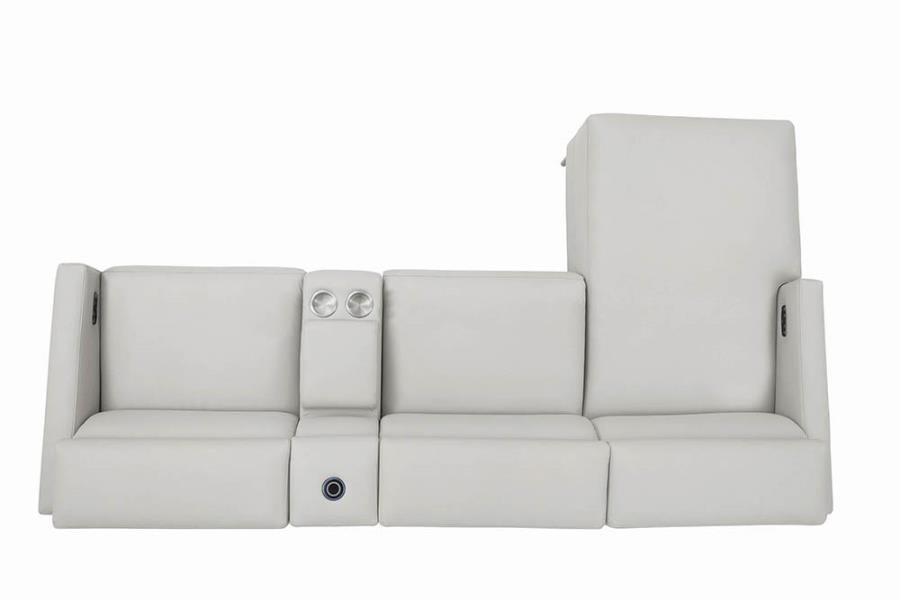 Complete 4-piece Sectional Sofa Top View