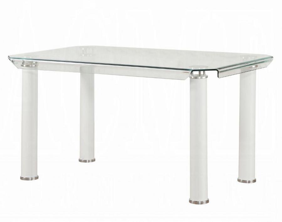 White Leg Dining Table