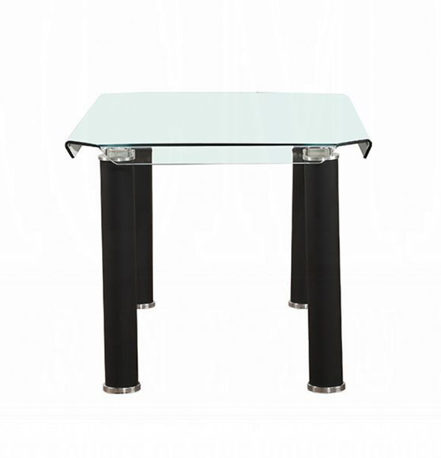 Black Leg Dining Table Side