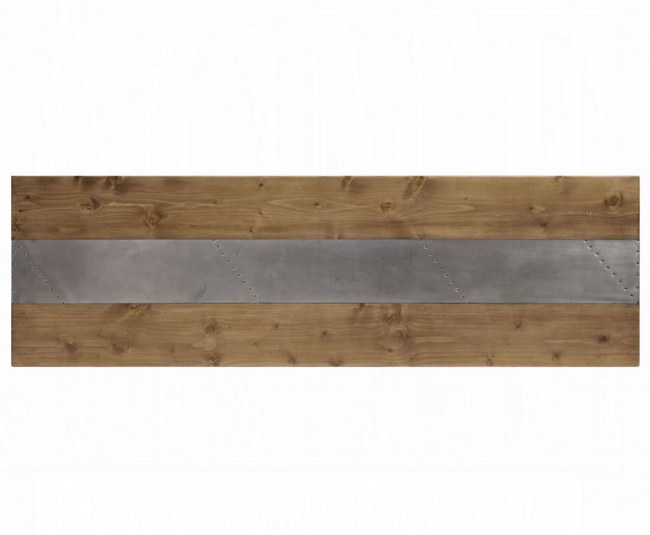 Bar Table Top w/ Aluminum Inlay