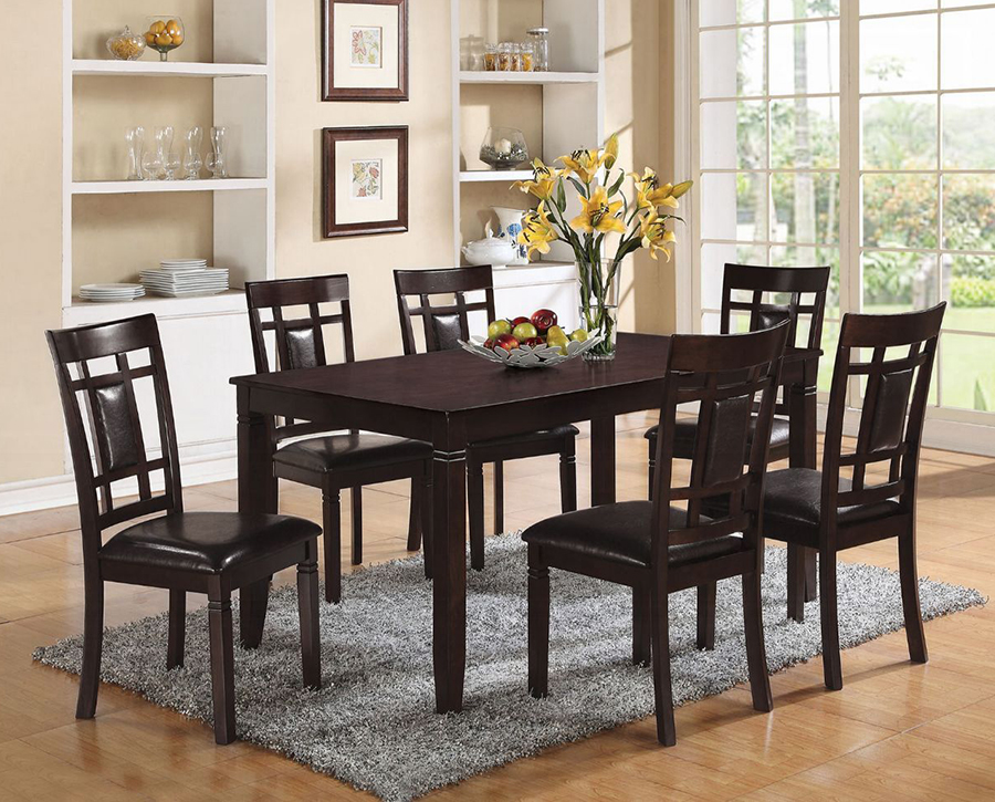 Complete 7 Piece Dining Table Set