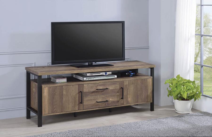 "Rustic Oak 59"" TV Console"