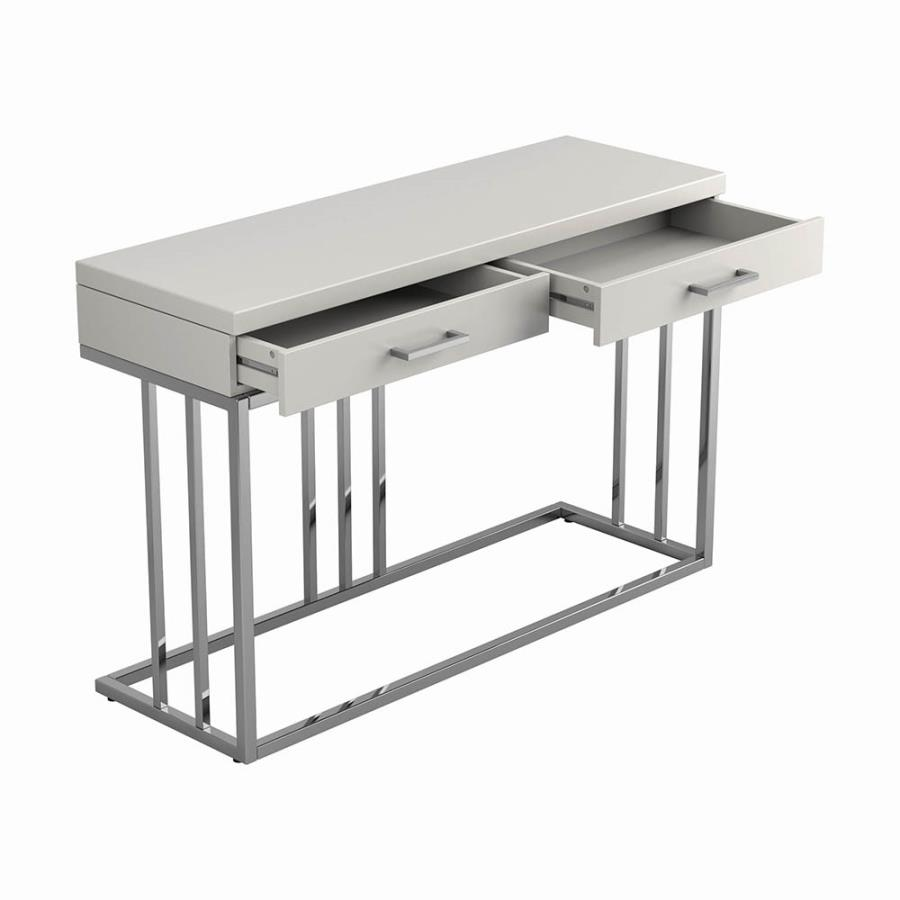 Sofa Table Storage Drawers