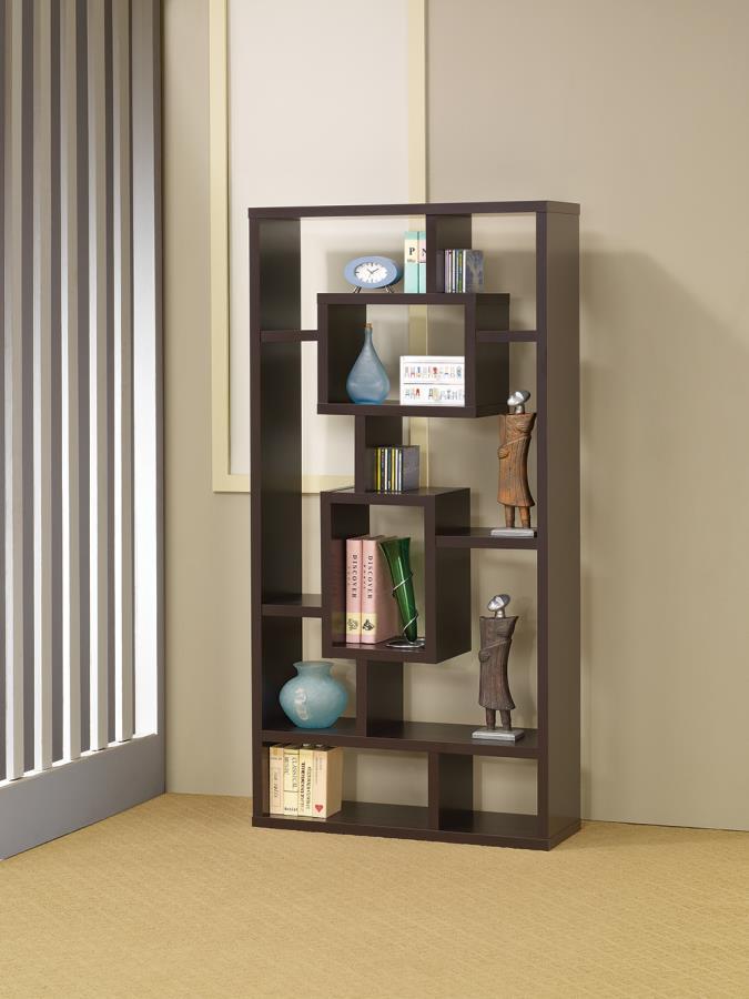 Geometric Bookcase