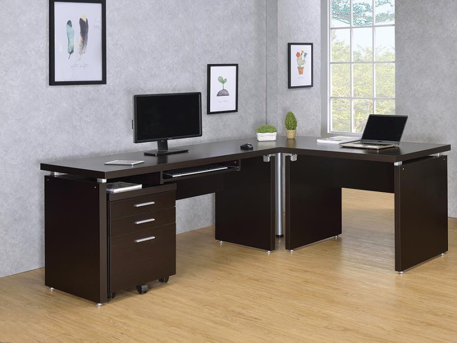 Computer Desk w/ Extension Desk