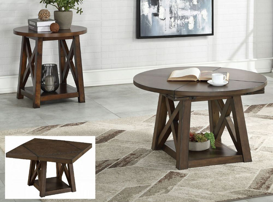 Complete Table Set w/ Different Coffee Table Tops
