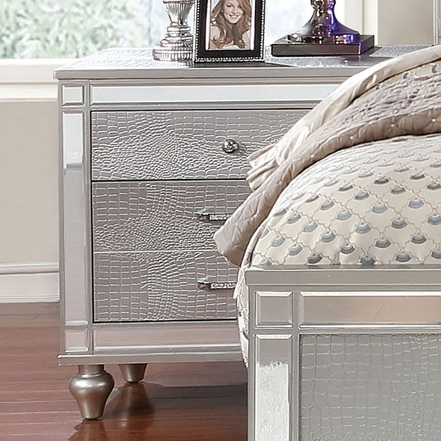 Silver Night Stand