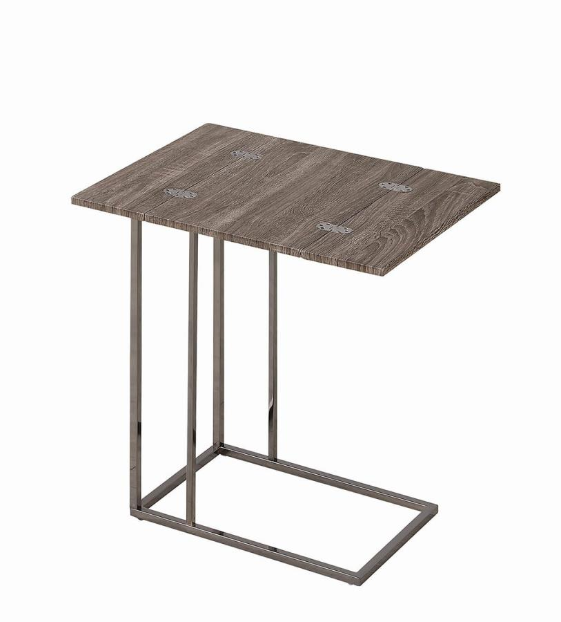 Accent Table w/ Foldable Top Open