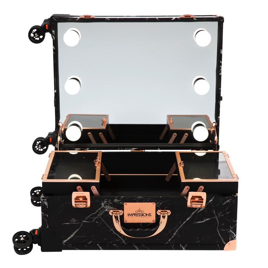 Makeup Travel Case Opened