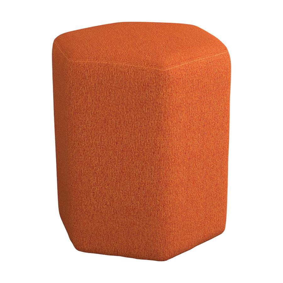 Orange Ottoman Angle