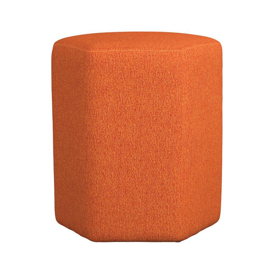 Orange Ottoman Front