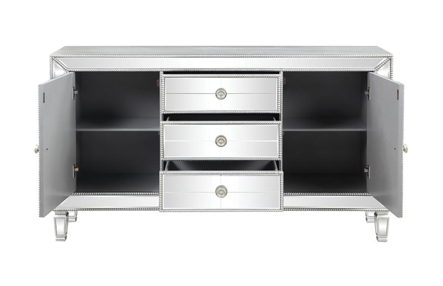 Accent Cabinet Front with Cabinets Open