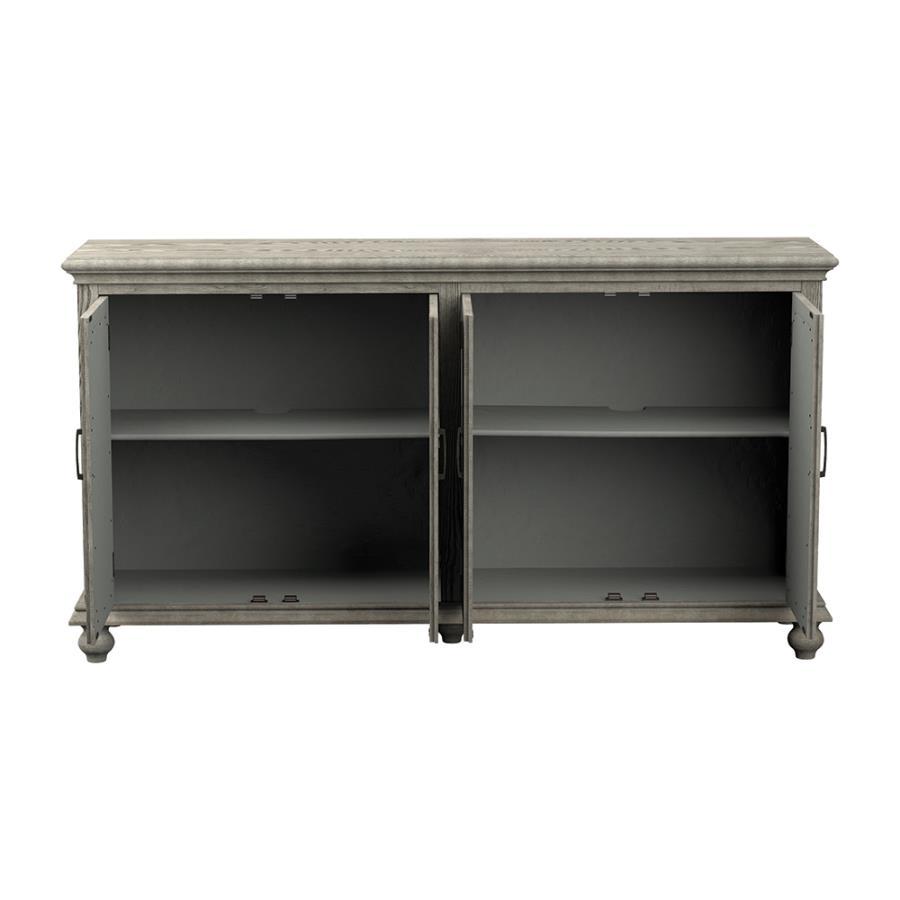 Accent Cabinet Front w/ Doors Open