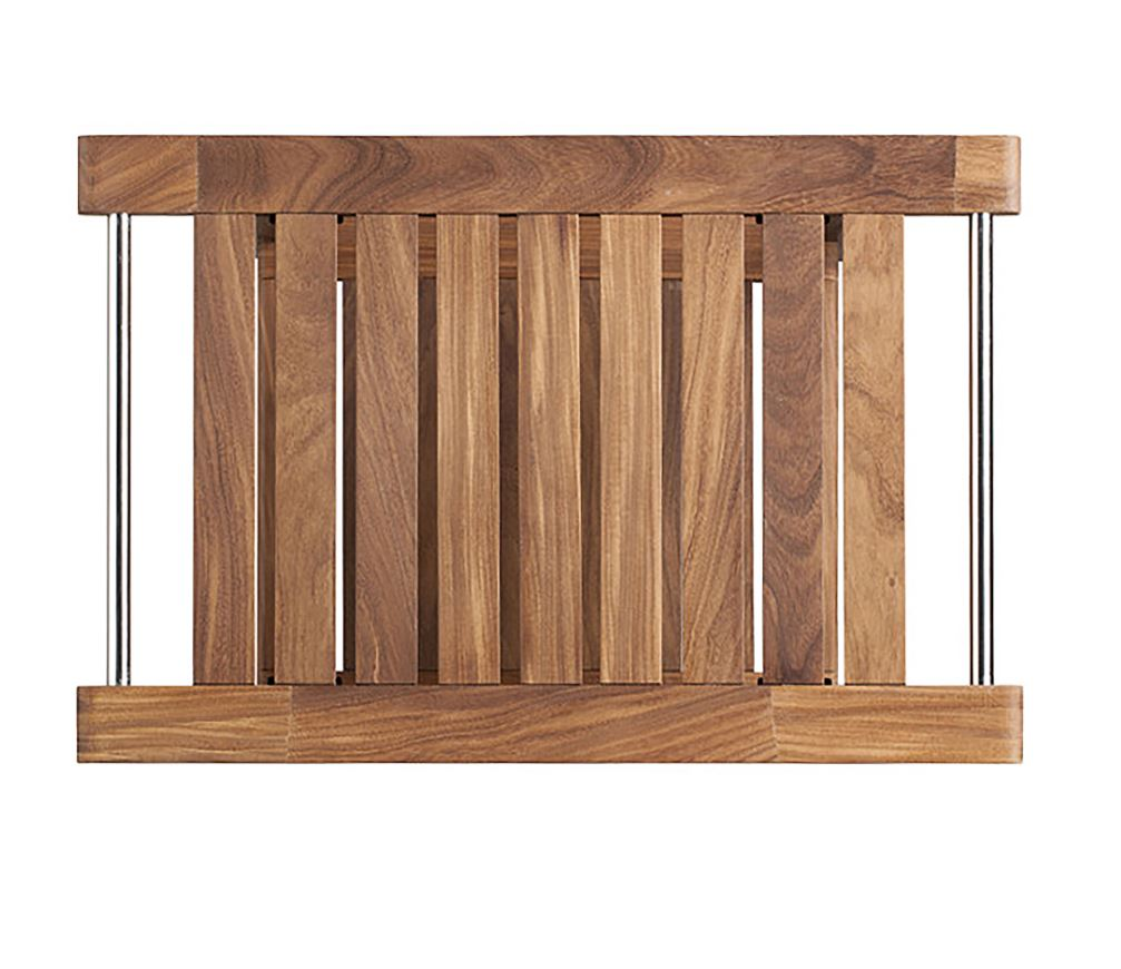 Teak Sauna Bench w/ Storage