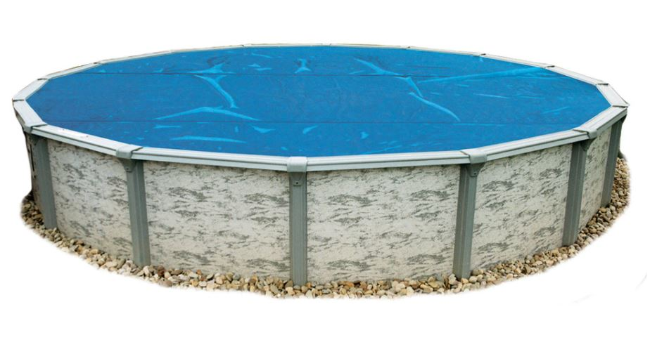 Blue 8-Mil Solar Blanket (Pool Not as Pictured)