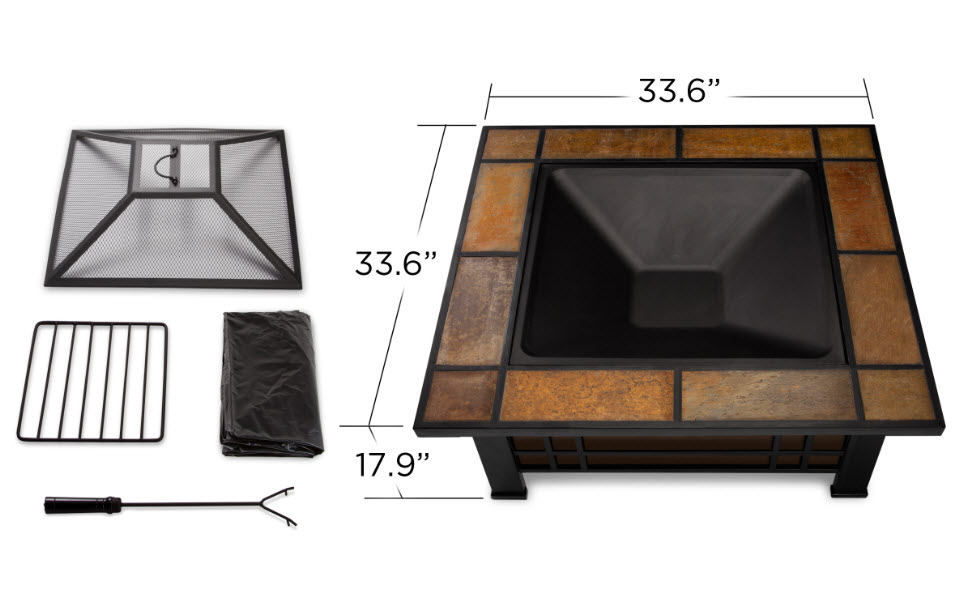 Grey Reflective Fire Glass