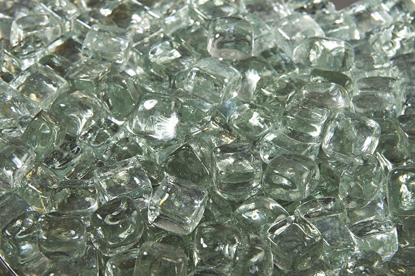 5 Lb Large Clear Crystal Fire Diamonds