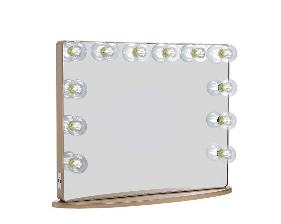Champagne Gold Vanity Mirror