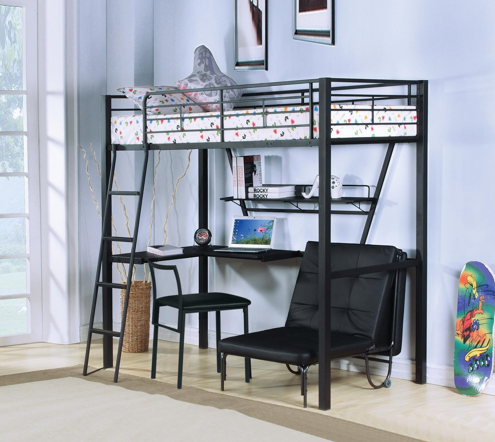 Complete Loft Bed w/ Desk