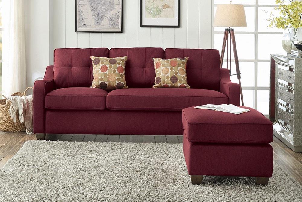 Sofa w/ Ottoman