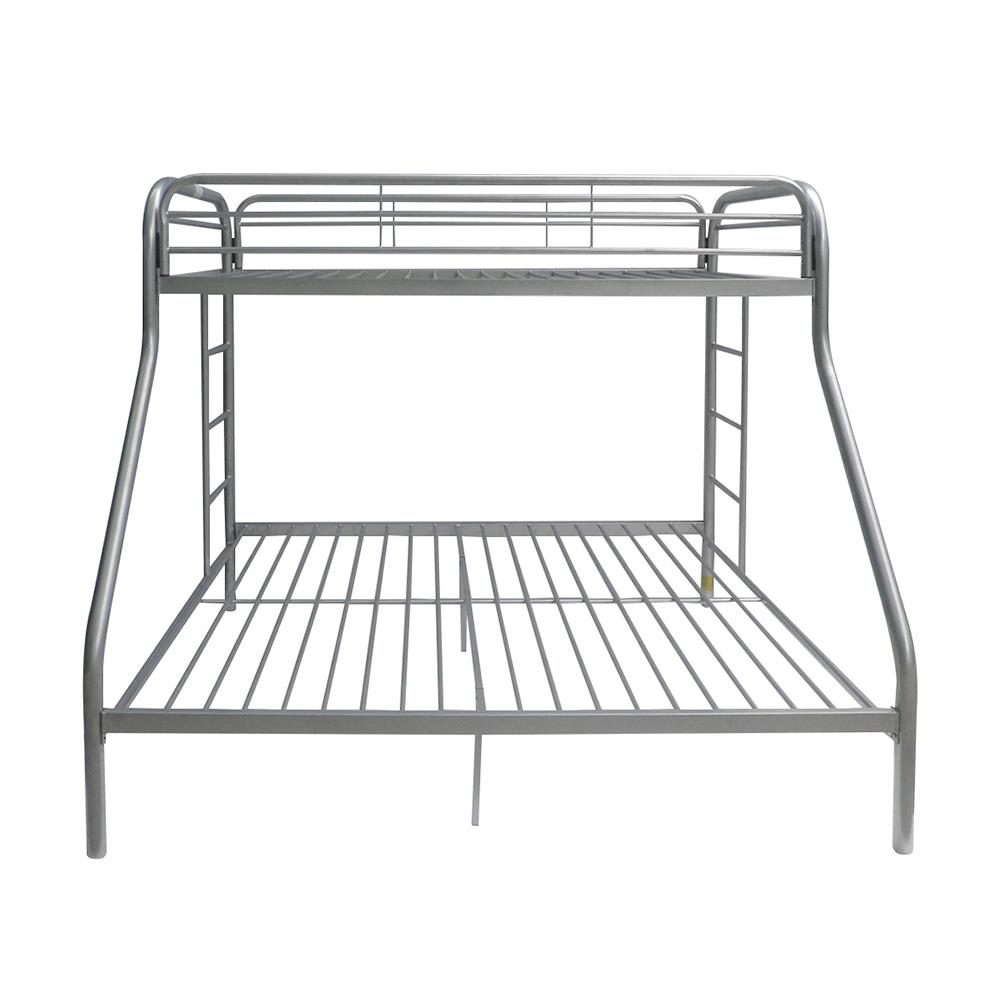 Silver Twin XL/Queen Bunk Bed Front