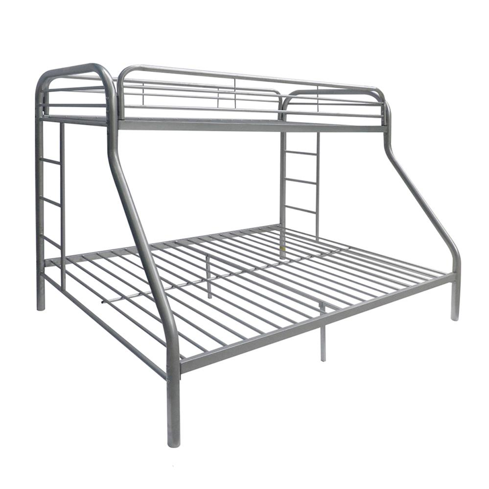Silver Twin XL/Queen Bunk Bed Angle